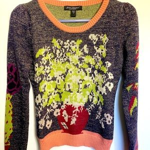 ✨Betsey Johnson✨ vintage sparkly sweater